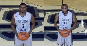 Anthony Hilliard (Left) and Preston Earle (Right) played for Catawba Valley Community College in the Battle of the South Jamboree and now are helping lead Dalton State to one of the best NAIA records in the country.  Photo's courtesy of Dalton State Athletics website.