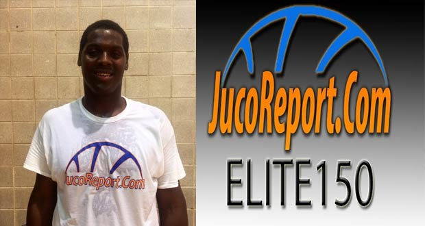 6'10 Brandon Walters (Walters St.) was one of the numerous standouts at the #JucoReportElite150