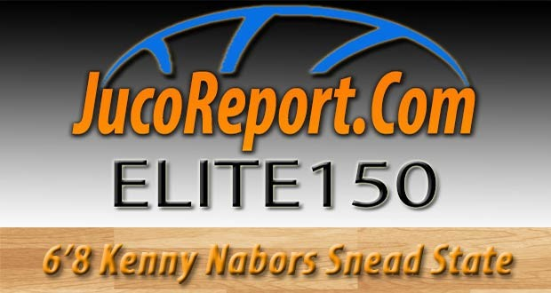6'8 Kenny Nabors of Snead State was a standout at the #ATLlive Showcase in April and has a chance again at the #JucoReportElite150