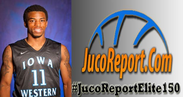 Shaq Calhoun of Iowa Western committed to South Alabama after playing in the #JucoReportElite150 this weekend. (Photo Credit Iowa Western Athletic Site)