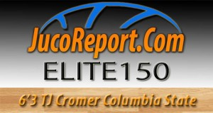 We bring you some #JucoReportTV footage of 6'3 TJ Cromer of Columbia State who will be with us at the #JucoReportElite150 on July 12th at Kell High School (Marietta, GA)