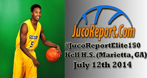 6'2 Alijah Bennett of Chattahoochee Tech averaged 14.9ppg as a freshman and will be with us at the #JucoReportElite150