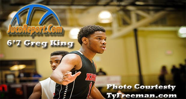 6'7 Greg King was a late qualifier and took his talents to Chipola (FL).  Photo Courtesy of TyFreeman.com