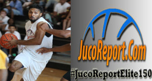 6'4 Jon Wade of Gulf Coast was one of the top guards at the #JucoReportElite150