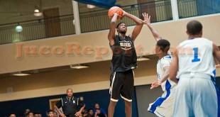 6'7 Quinton Campbell was a standout at the #BOTSJamboree (Photo Credit Ty Freeman)